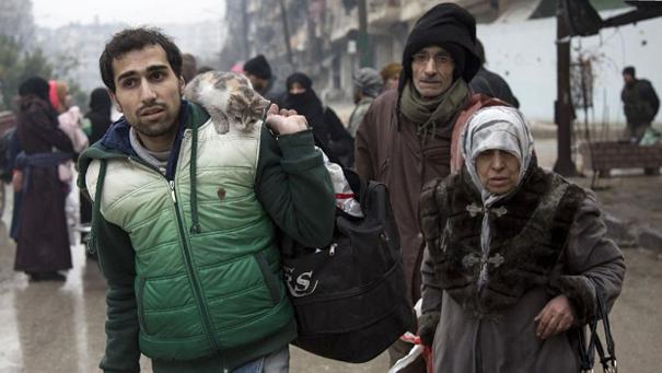 Aleppo falls