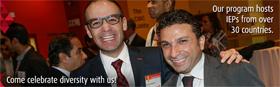 Kamo Mailyan and fellow York University IEP graduate