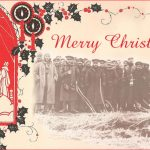 Silent Night: Daily Mirror photo of German and British soldiers Christmas Eve 1914