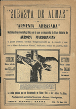 Ravished Armenia poster in Spanish