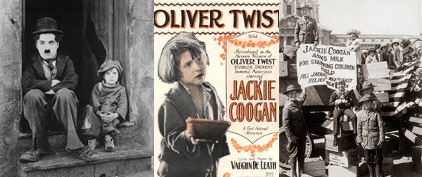 Jackie Coogan - as The Kid, Oliver Twist, and working for NER