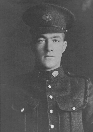 "WWI Canadian soldier Roderick Charles ""Mac"" MacLennan"