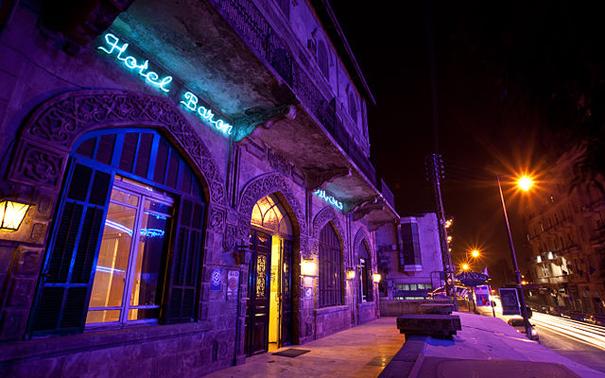 Baron Hotel, Aleppo 2010