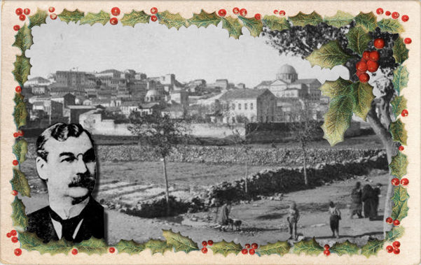 Christmas at Aintab with photo of Cornelius H. Patton