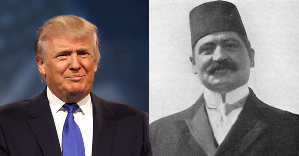 Donald Trump and Mehmed Talat - Separated at Birth?