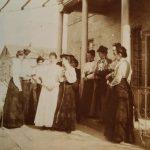 Single Ladies as Missionaries in Talas, Turkey circa 1905