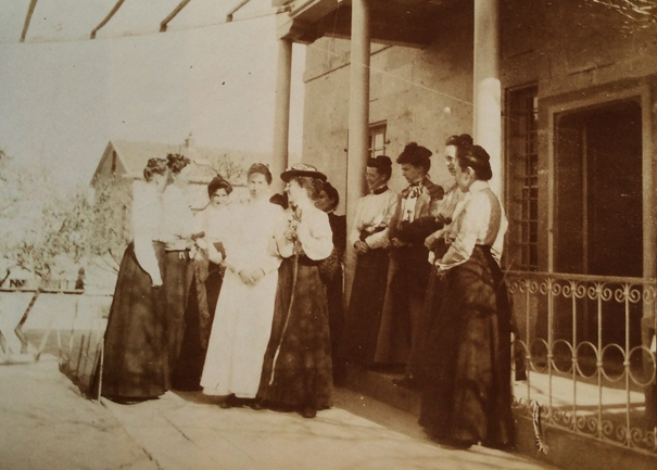Single Ladies as Missionaries in Talas, Turkey circa 1905