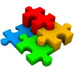 4 puzzle pieces